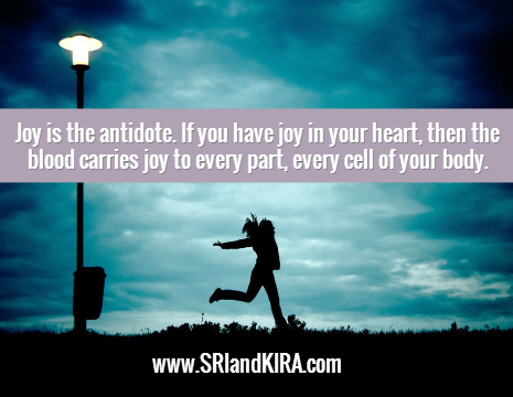 joy is the antidote